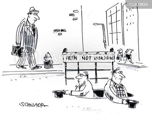 beggared cartoon