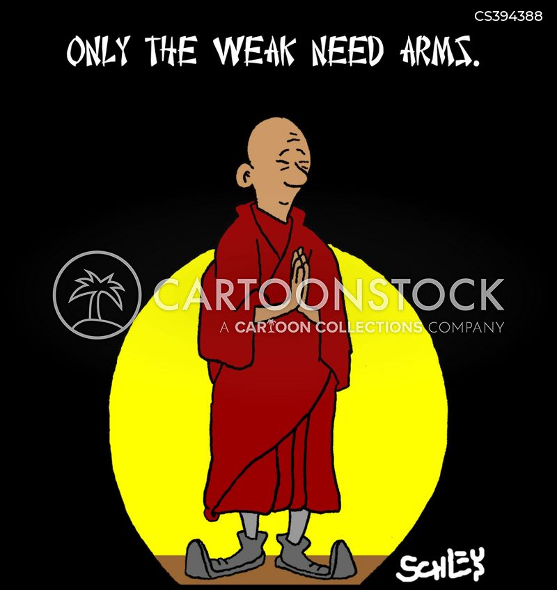 peace movement cartoon