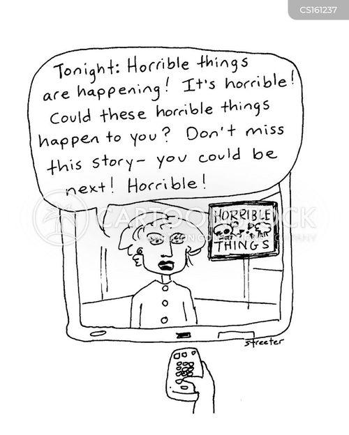 fearmongering cartoon