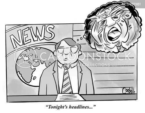 horrified cartoon
