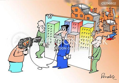 falsehood cartoon