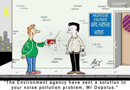 environmental health cartoon