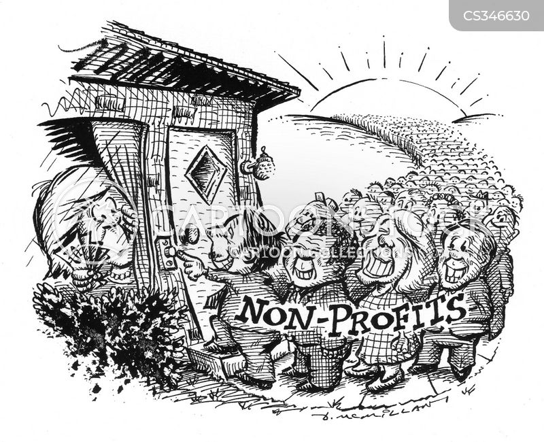 not for profits cartoon