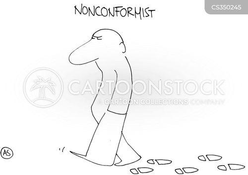 conformists cartoon