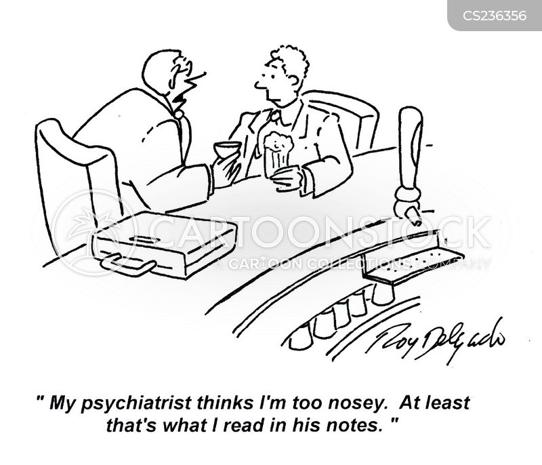 intrigued cartoon