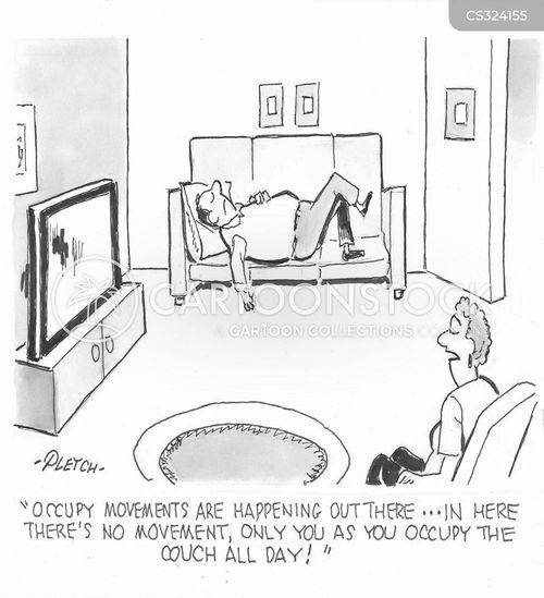 social action cartoon