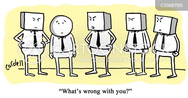 conformity cartoon