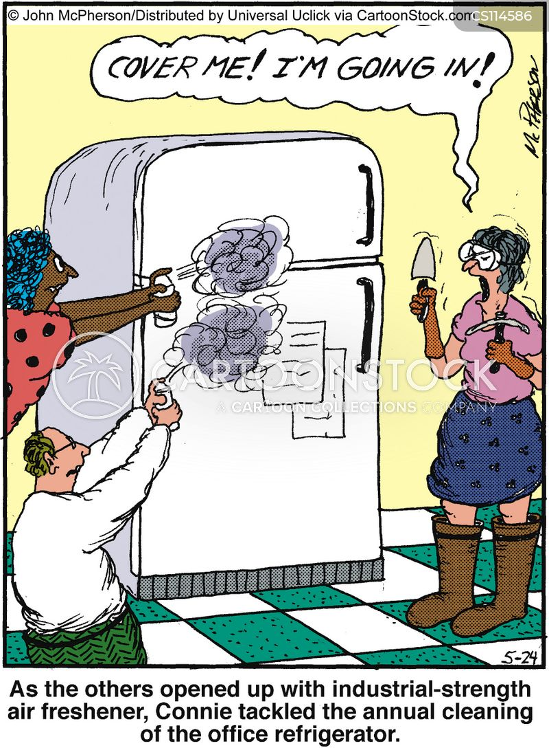 Fridge Cartoons and Comics - funny pictures from CartoonStock