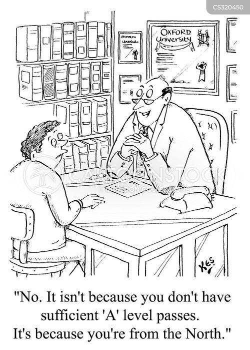 oxford cartoon