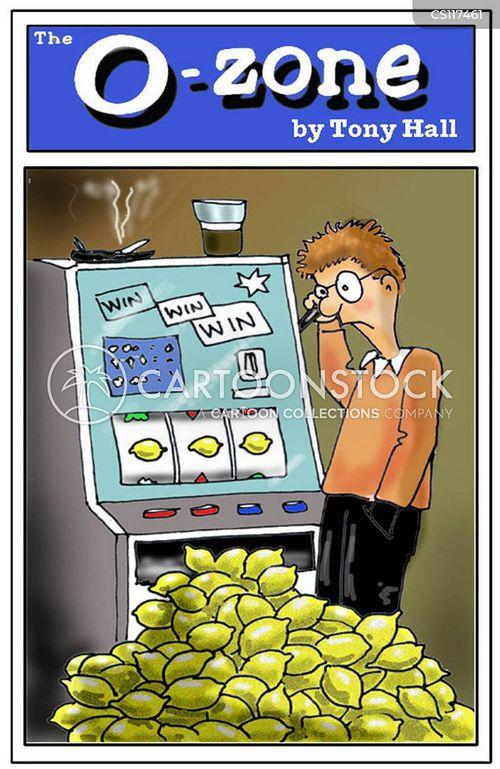fruit machines cartoon