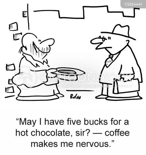 nervy cartoon