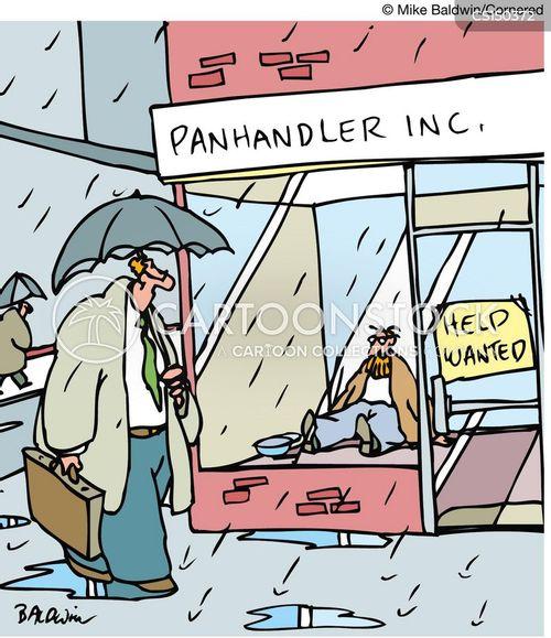 job advertisment cartoon