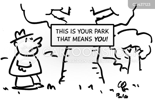 public parks cartoon