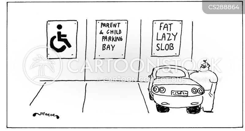 fat lazy slob bay cartoon