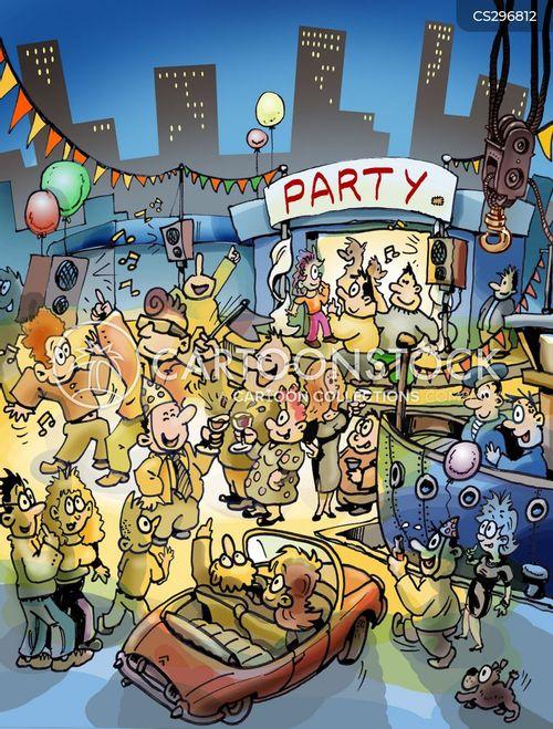 fest cartoon