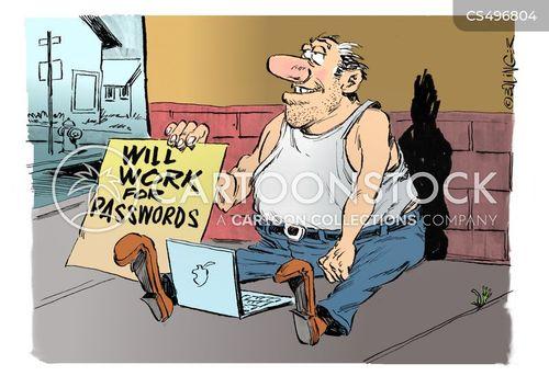 cyber securities cartoon