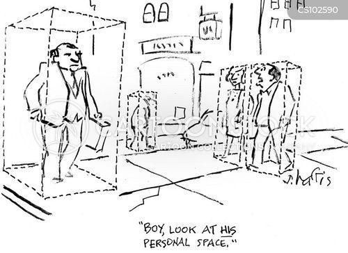 personal boundaries cartoon