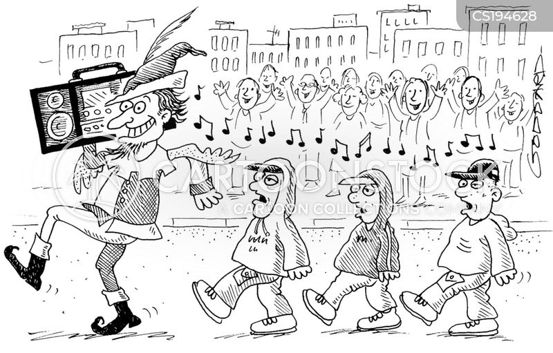 pied piper cartoon