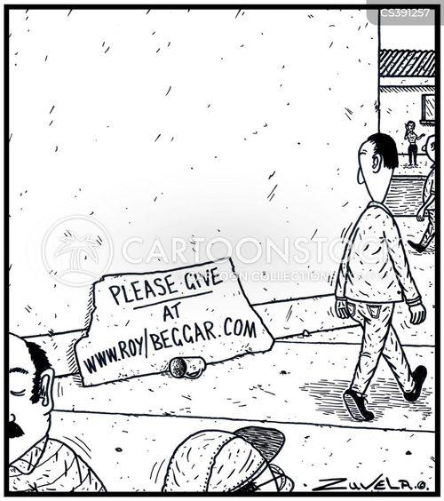 webpage cartoon