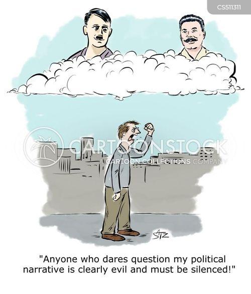 silenced cartoon