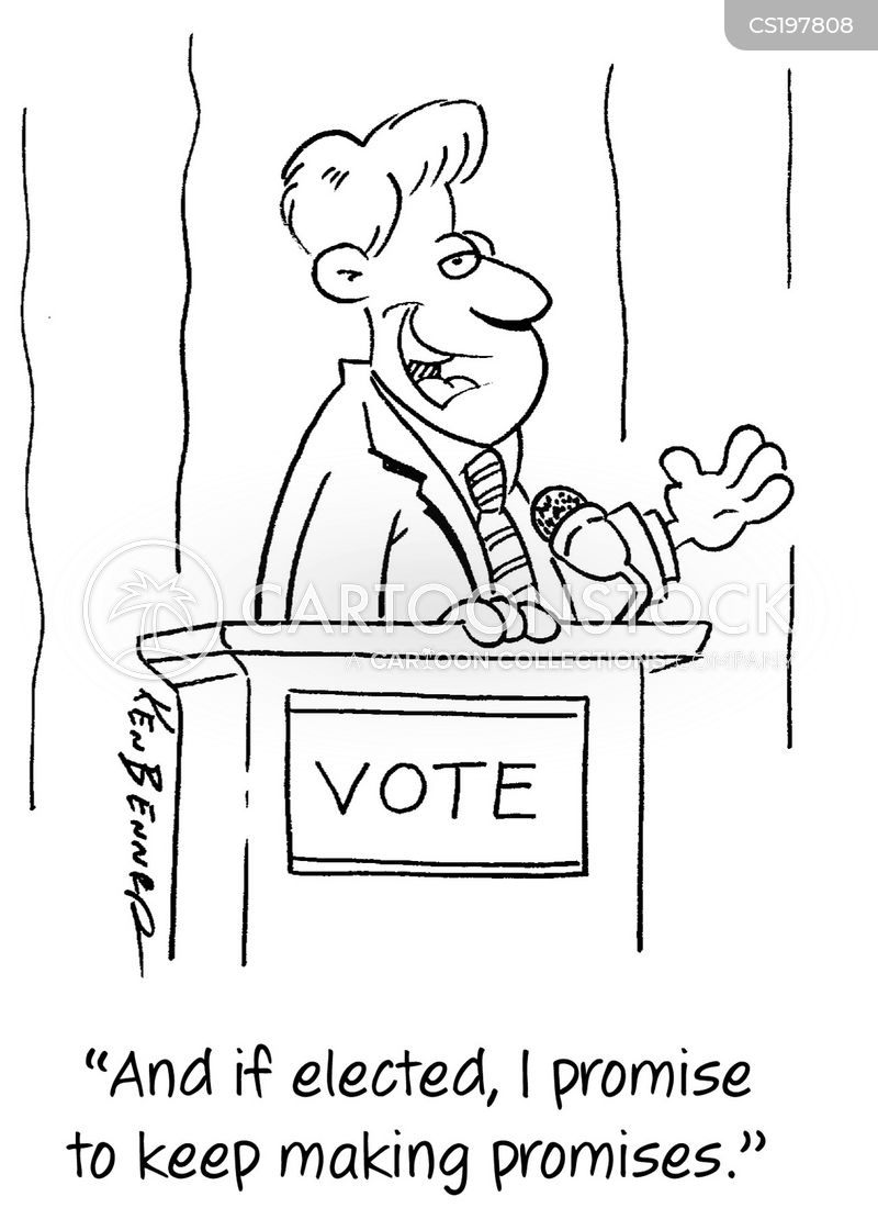Election Promises Cartoons and Comics - funny pictures from ...