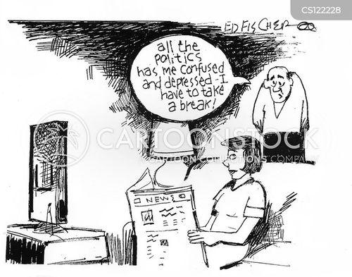 television coverage cartoon
