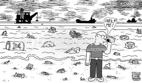 hear the ocean cartoon