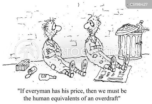 overdraft cartoon