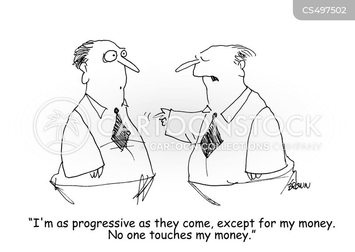 progressiveness cartoon