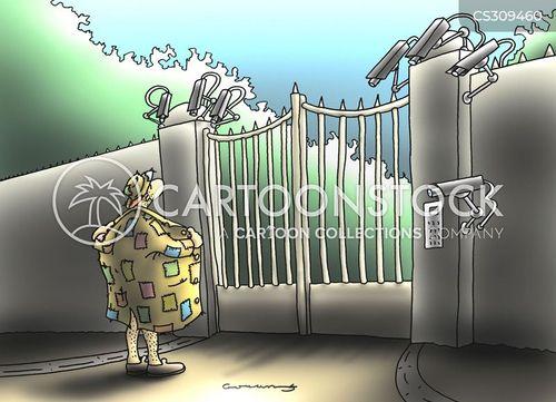 closed circuit tv cartoon