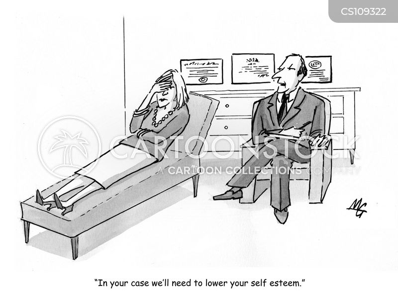 psychological issues cartoon
