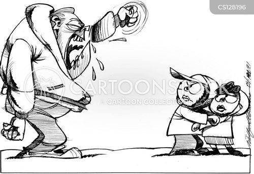 narrow minded cartoon