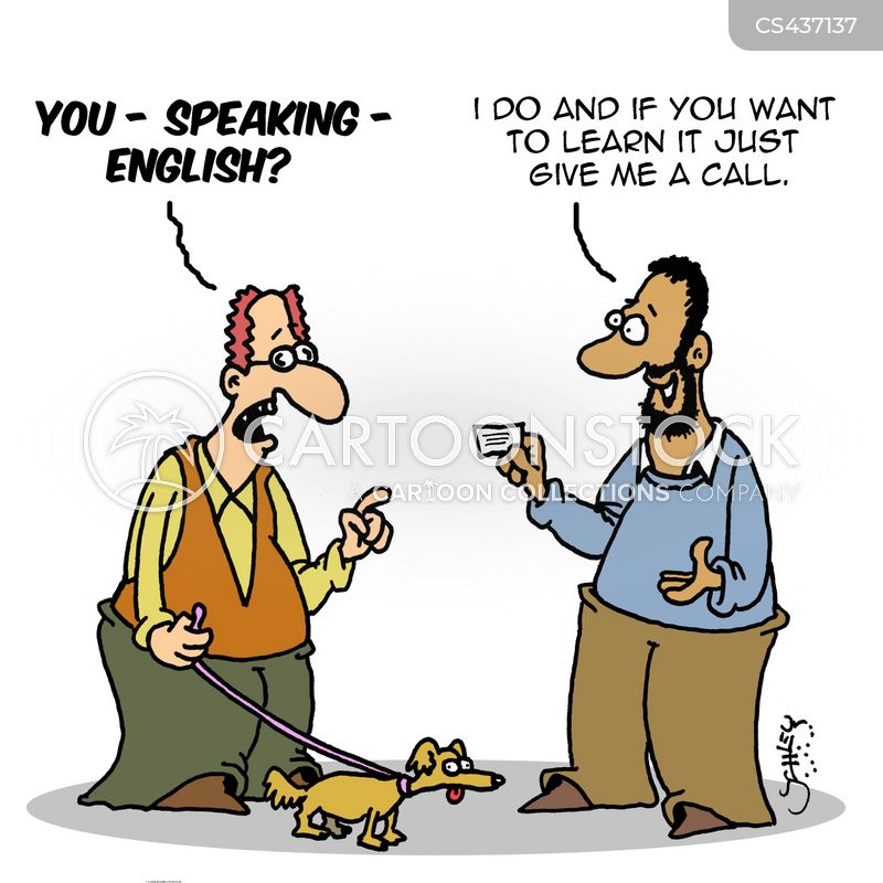 english skills cartoon