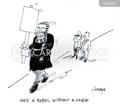 demonstrates cartoon