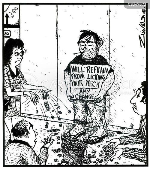 refraining cartoon