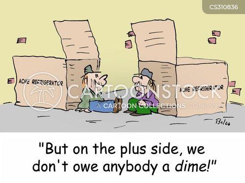 refrigerator box cartoon