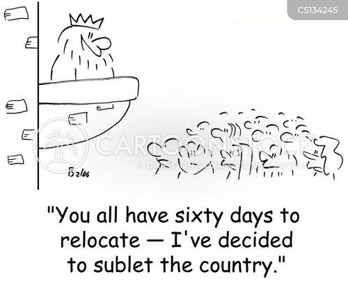 sublets cartoon