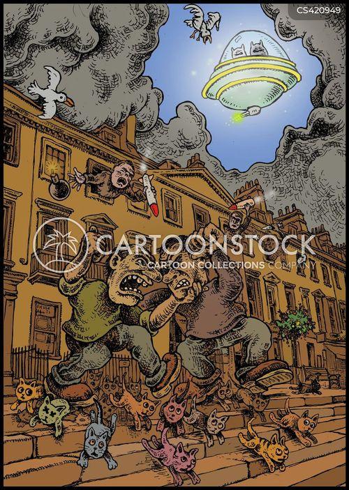 rough neighborhoods cartoon