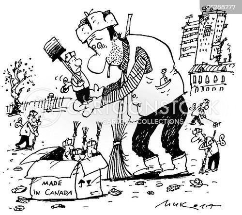 groundsman cartoon