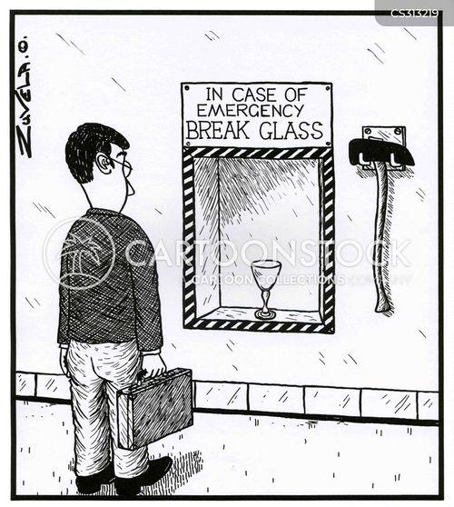 safety procedures cartoon