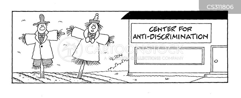discriminatory cartoon