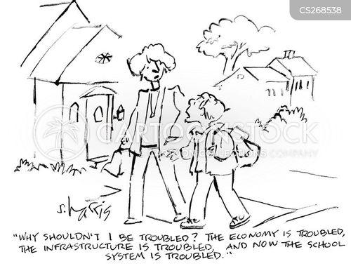 political awareness cartoon