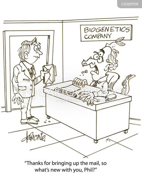 biogenetics cartoon