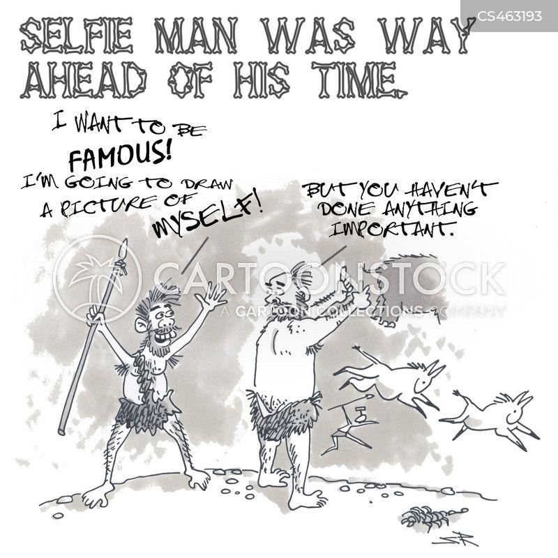 get noticed cartoon