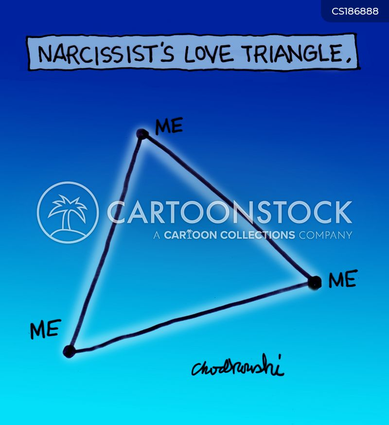 love triangles cartoon