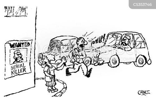 passer-by cartoon