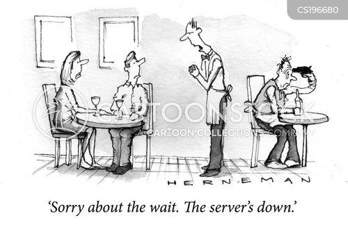dines cartoon