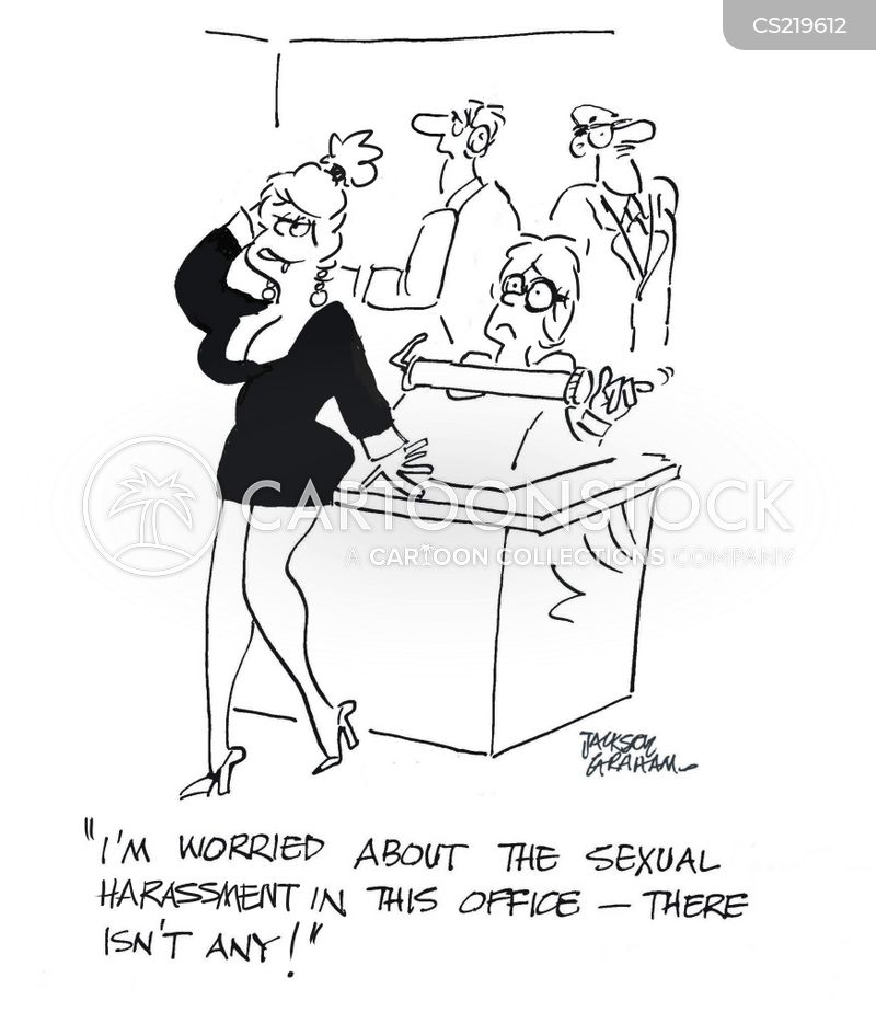 women worker cartoon
