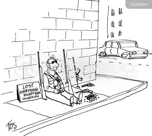 gun owner cartoon