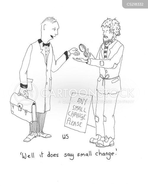 charitable acts cartoon